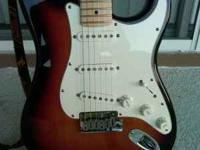 For sale a 2006 Fender American Stratocaster in