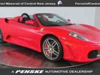 The F430 Spider signs up with the F430 as the current