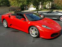 2006 Ferrari F430 Spider Convertible 4.3L V8.  Very Low