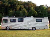 This is a 2006 Fleetwood Excursion 39S Diesel Pusher