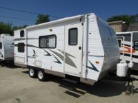 2 tone exterior paint, 4 brand new tires, 12ft awning,