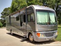 Model 37C with 3 slide-out rooms. This beauty is being