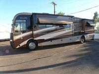 2006 Fleetwood Revolution 40LEL Diesel Pusher with a