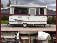 2006 Fleetwood Sequoia Pop Up Camper. The perfect mix