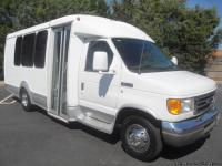 2006 FORD E-350 14 SEAT ACTIVITY SHUTTLE BUS WITH