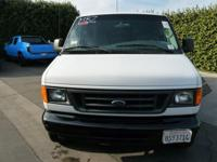 2006 Ford E350 Turbo Diesel Van, California Road Miles,