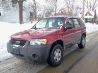 Our fabulous 2006 Ford Escape XLS comes with a