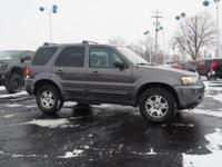 Options:  2006 Ford Escape Limited|Awd Limited 4Dr