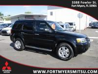 2006 Ford Escape Limited in Black Clearcoat, *AutoCheck
