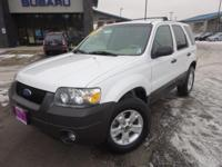 Options:  2006 Ford Escape Xlt|White|Recent Arrival!