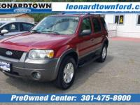 2006 V-6 Escape XLT 4 Wheel Drive - Only 96,769 Miles -