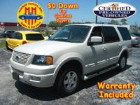 2006 FORD EXPEDITION LIMITED, 2WD, 5.4L V-8, LOADED !!
