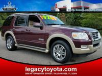 LEATHER, RUNNING BOARDS, TOW PACKAGE, Explorer Eddie
