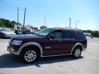 Exterior Color: red, Body: Eddie Bauer 4dr SUV, Engine: