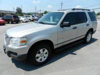 2006 FORD EXPLORER XLS 4DR SUV, silver, all power