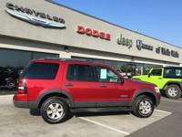 2006 Ford Explorer XLT 4D Sport Utility Red Fire