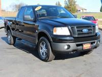 This 2006 Ford F-150 FX4 in Black Clearcoat features.