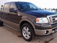 KING RANCH! SUNROOF! KING RANCH LEATHER! 4-WHEEL-DRIVE!