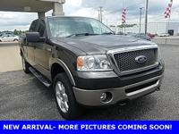 Clean CARFAX. Brown 2006 Ford F-150 Lariat 4WD 4-Speed