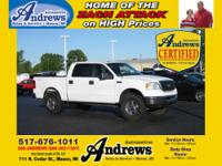 Andrews Automotive Certified Used ! 2006 Ford F-150 XLT