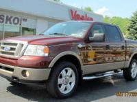 Loaded Ford F-150 King Ranch Edition with hard Tonneau