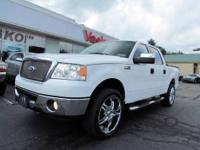 Very Sharp! This 2006 Ford F-150 XLT Crew Cab has many