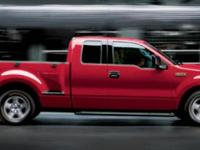 Red 2006 Ford F-150 STX RWD 4-Speed Automatic with