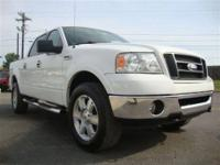 This 2006 Ford F-150 FX4 4x4 Truck features a 5.4L 8