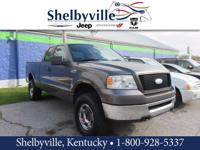 CARFAX One-Owner. Clean CARFAX. 2006 Ford F-150 XLT 4WD