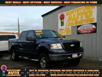 Options:  2006 Ford F-150 Blue|F150|0 Miles|Stock