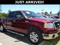 This F-150 features: 5.4L V8 EFI 24V.Clean CARFAX.