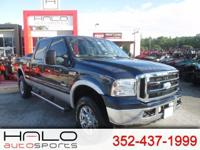 2006 FORD F250 CREW CAB 4X4 DIESEL PICK UP TRUCK- RUNS