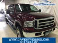 Maroon+2006+Ford+F-250SD+Lariat+4WD+Power+Stroke+6.0L+V