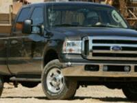 New Price! Ford F-250SD Black 4WDClean CARFAX. Odometer