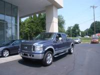 This 2006 F-250 Lariat has less than 90k miles* Priced