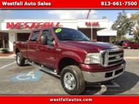 2006 Ford F350SD Crew Cab 4WD Lariat with a turbo