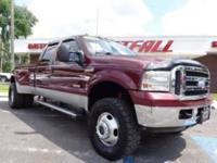 THIS IS A NICE 2006 FORD F350 LARIAT CREW CAB LONGBED