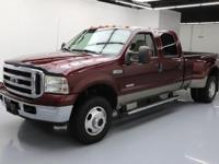 This awesome 2006 Ford F-350 4x4 Diesel comes loaded