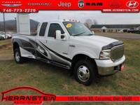 Clean AutoCheck, Alloy Wheels, CD Player, F-350
