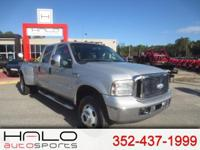 2006 FORD F350 DUALLY DIESEL 4X4 CREW CAB PICK UP TRUCK