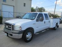 2006 FORD F350 SUPER DUTY, XLT, SERVICE/UTILITY MADE BY