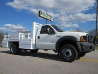 2006 Ford F-550 XL SD 12? Flatbed Truck, Powerstroke
