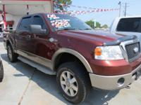 2006 Ford F150 4x4 King Ranch Crew VIN: