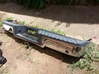 Chrome rear bumper off a 06 f150 crewcab fits any other