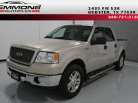 **WE FINANCE** with LARIAT pkg., 5.4L-V8, AUTOMATIC,