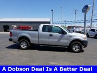 2006 Silver Clearcoat Metallic Ford F-150 XL 4-Speed