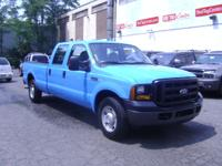 Options Included: $ 7,999.00 2006 FORD F250 CREW CAB