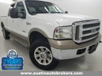 This 2006 Ford F250 FX4 KING RANCH is CERTIFIED Pre-