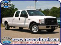 Options Included: 2006 Ford F-250 XL Crew Cab ** Long