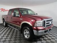 Leather Seats! This Clean CarFax 2006 FORD F-250 SUPER
